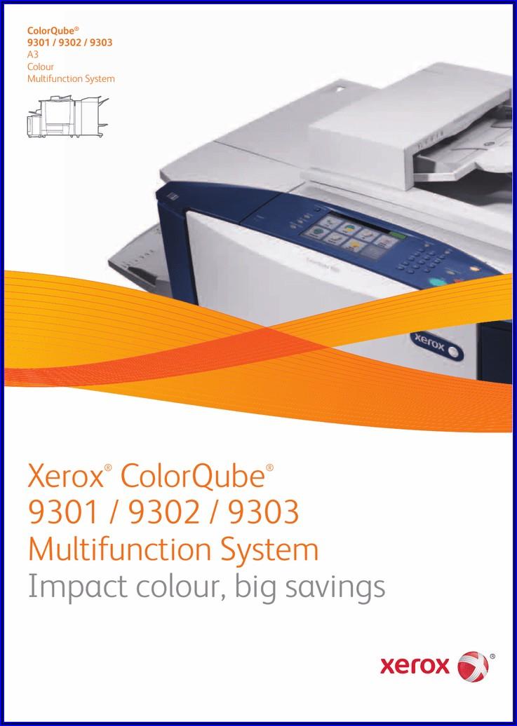Xerox Colorqube 9301 Brochure