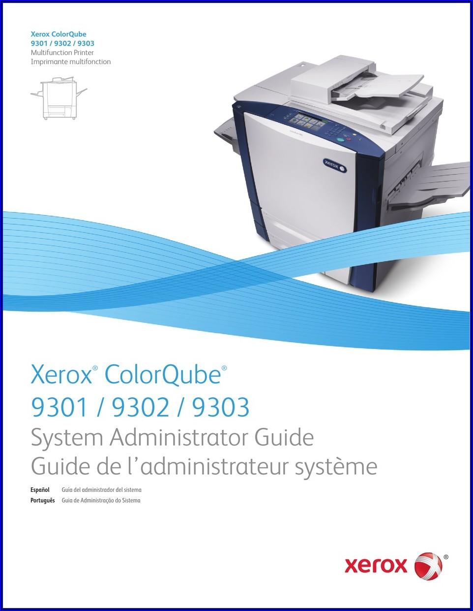 Xerox Colorqube 9301 Manual