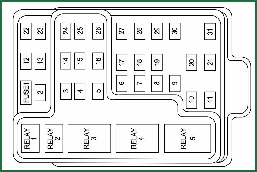 01 Ford F150 Fuse Diagram