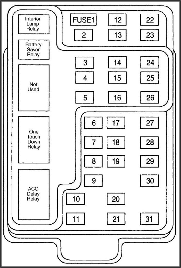 02 Ford F150 Inside Fuse Box Diagram