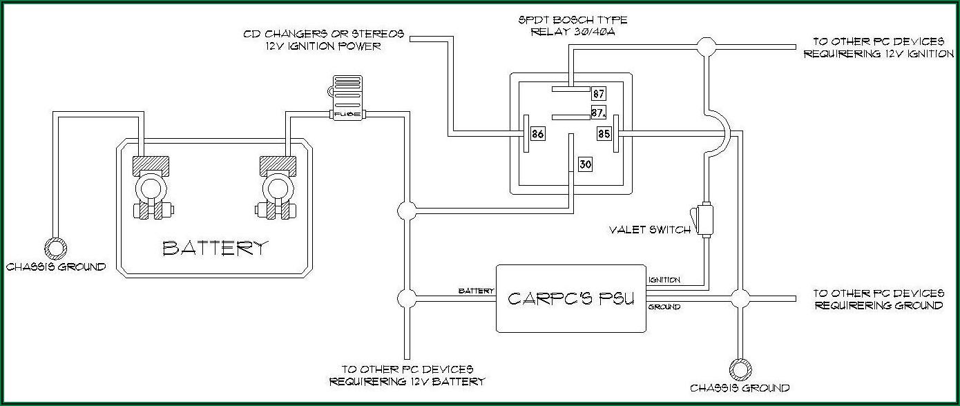 12 Volt Relay Pin Diagram