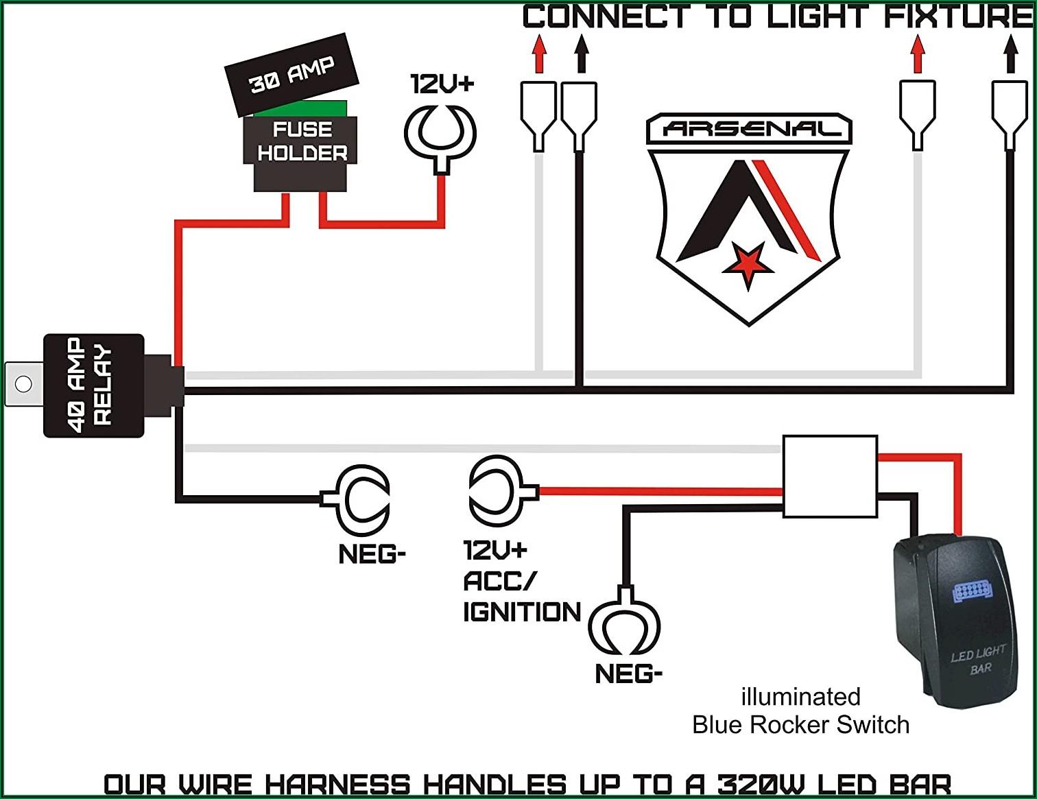 12v 40 Amp Relay Wiring Diagram