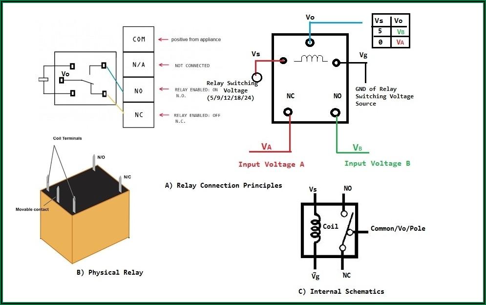 12v Relay 5 Pin Diagram