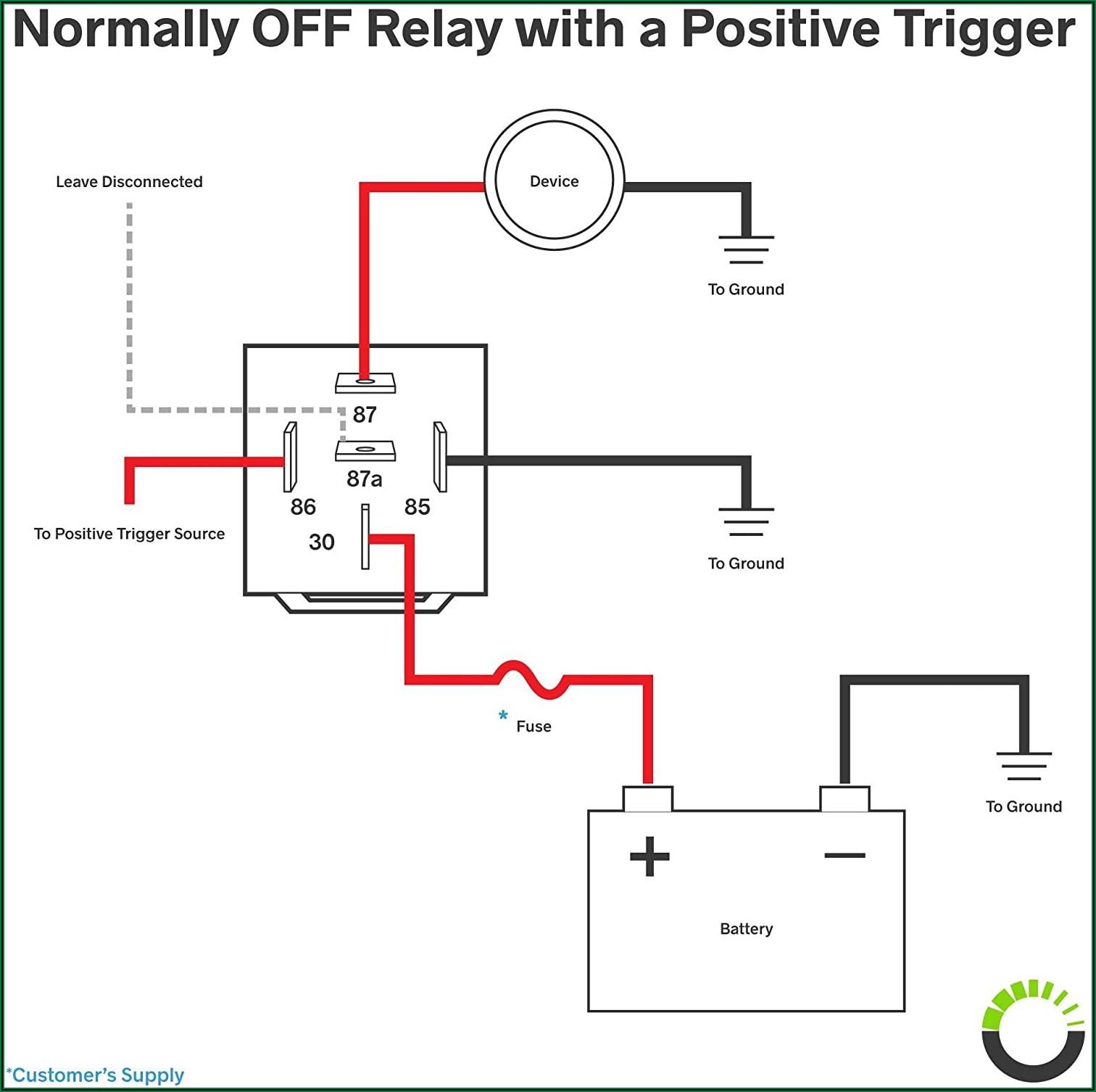 12v Relay 6 Pin Diagram