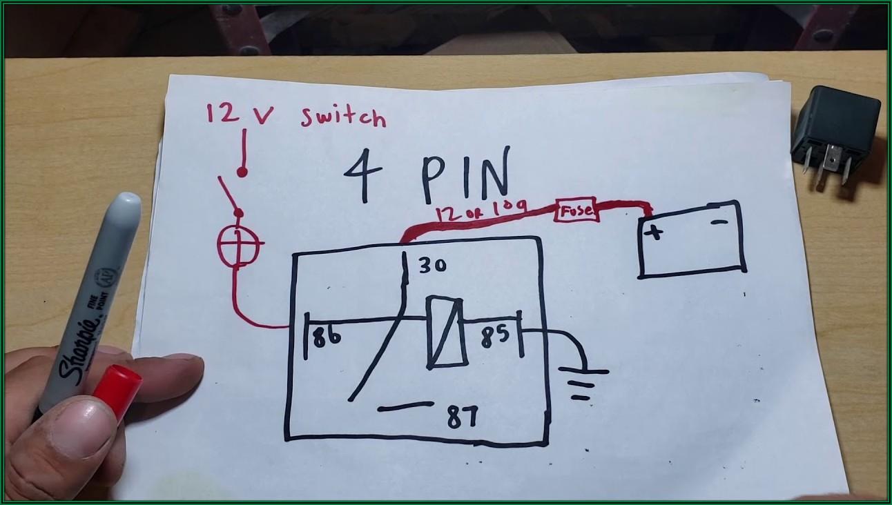 12v Relay Wiring Diagram 6 Pin