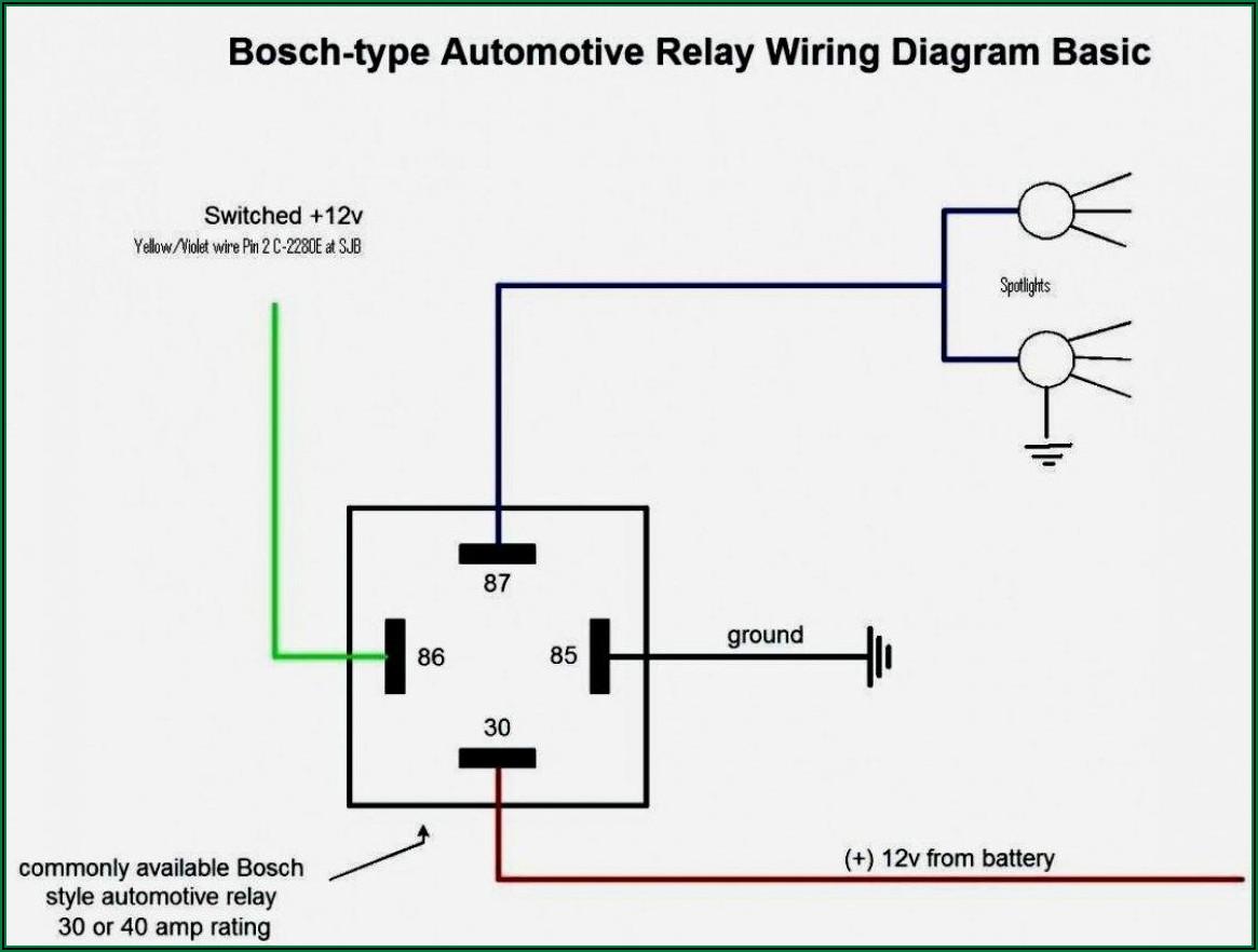 12v Relay Wiring Diagram 8 Pin