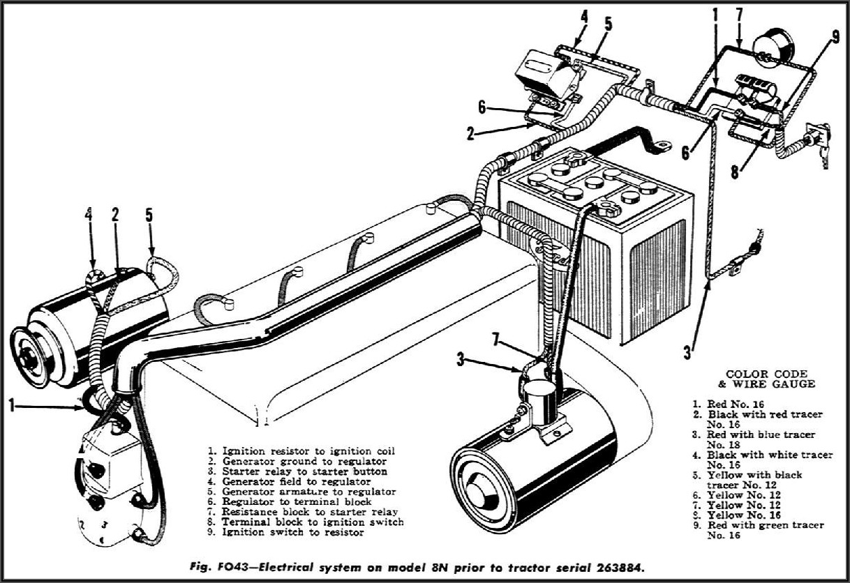 1948 Ford 8n Tractor Wiring Diagram 12 Volt