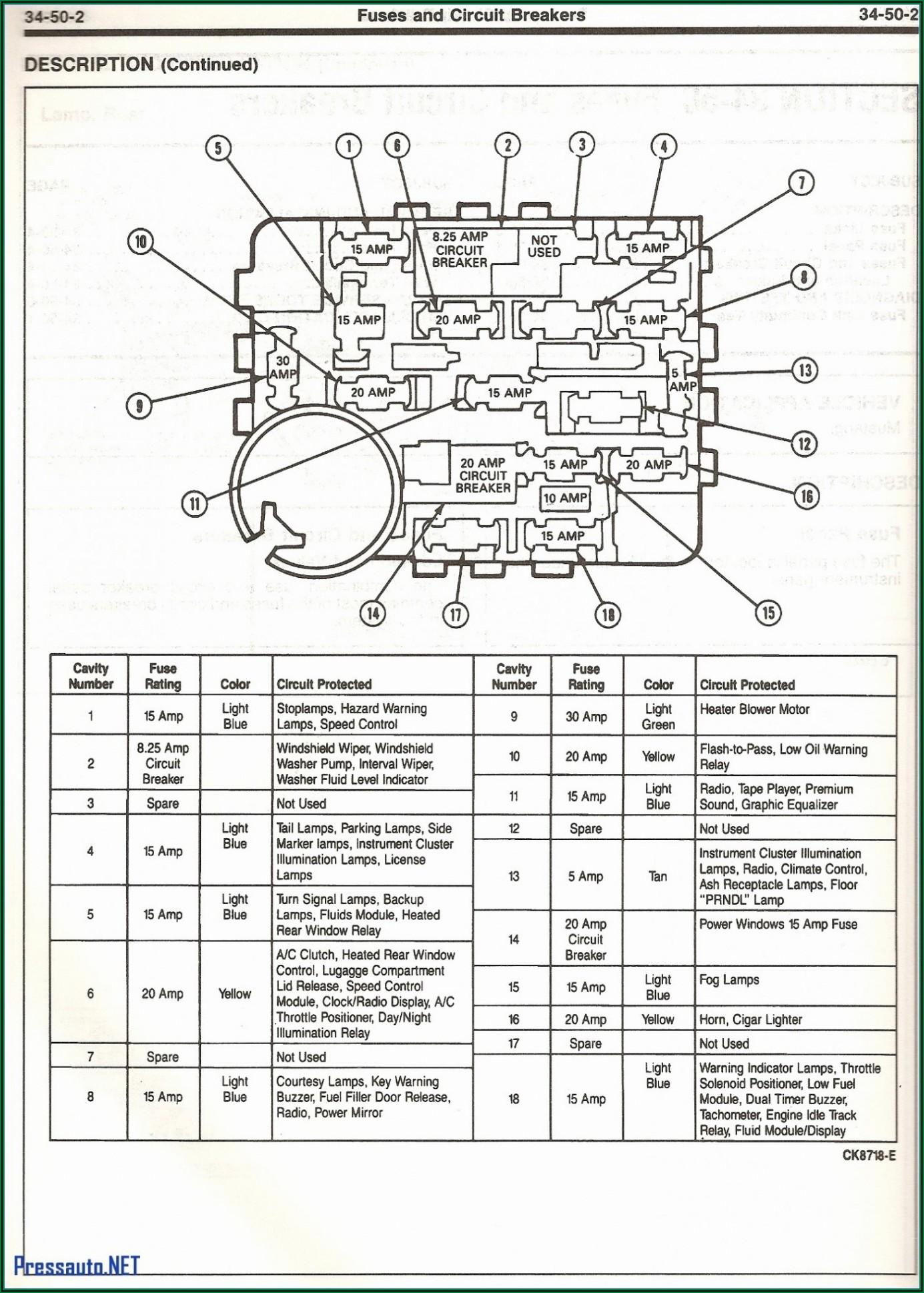 2002 Ford F150 Fuse Box Diagram Under Dash