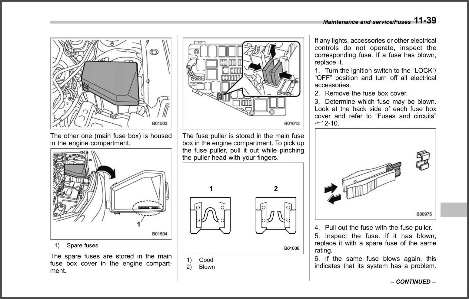 2010 Dodge Charger Sxt Fuse Box Diagram