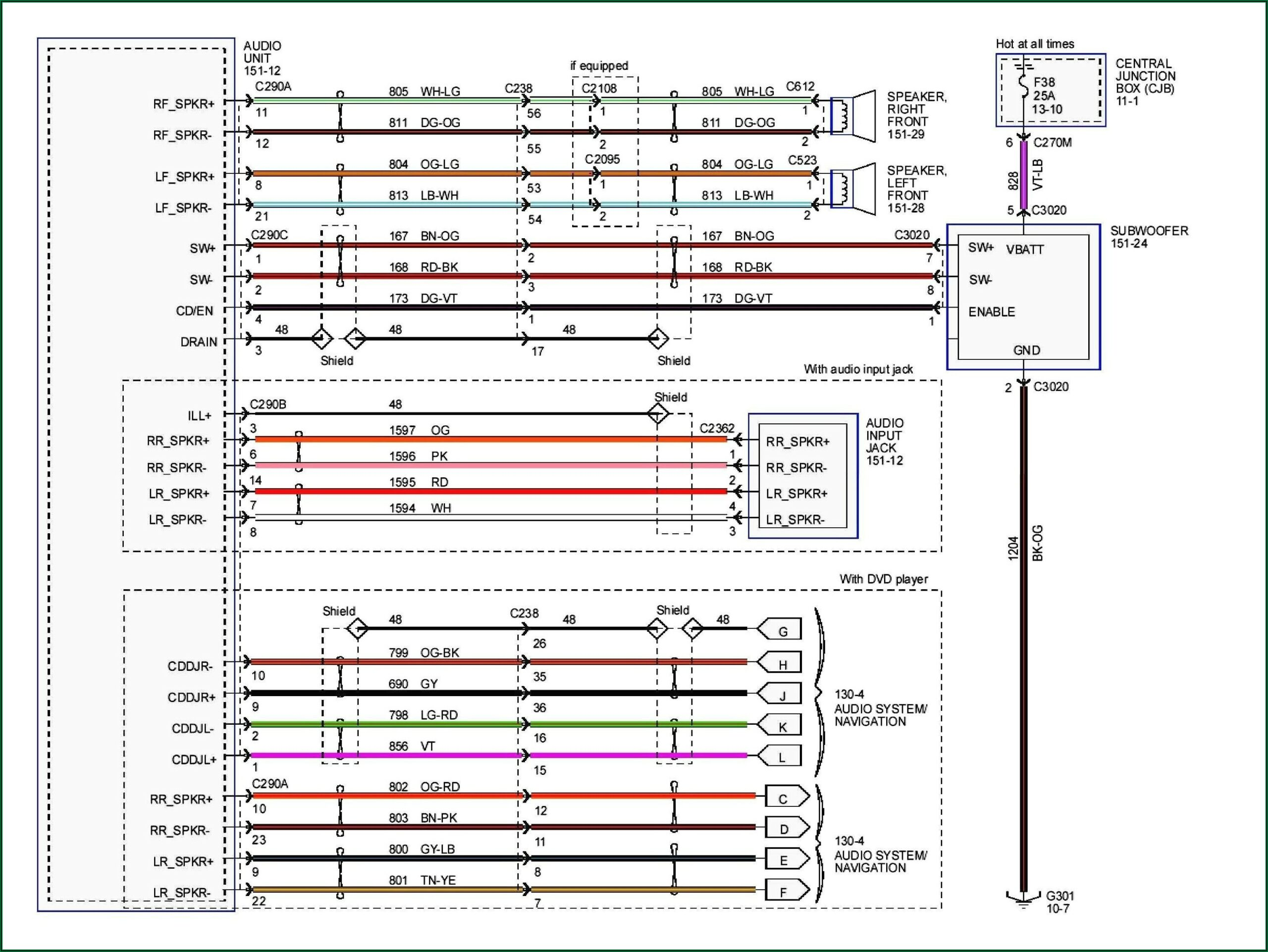 2011 Ford F150 Stereo Wiring Diagram