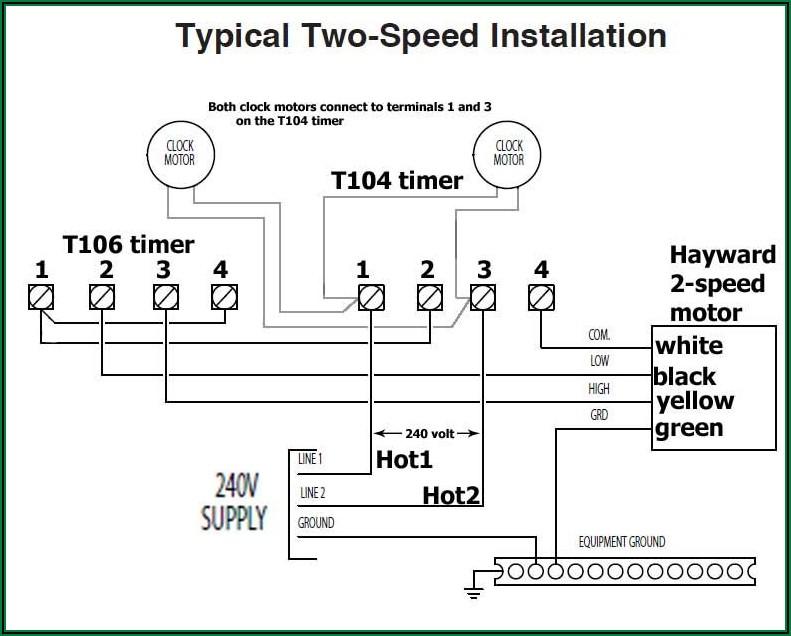220 Volt Pool Pump Wiring Diagram