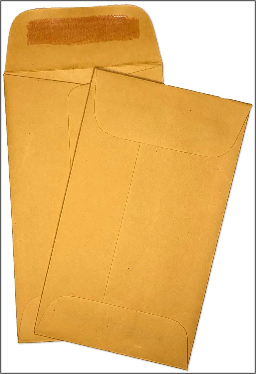 3 12 X 6 Envelopes