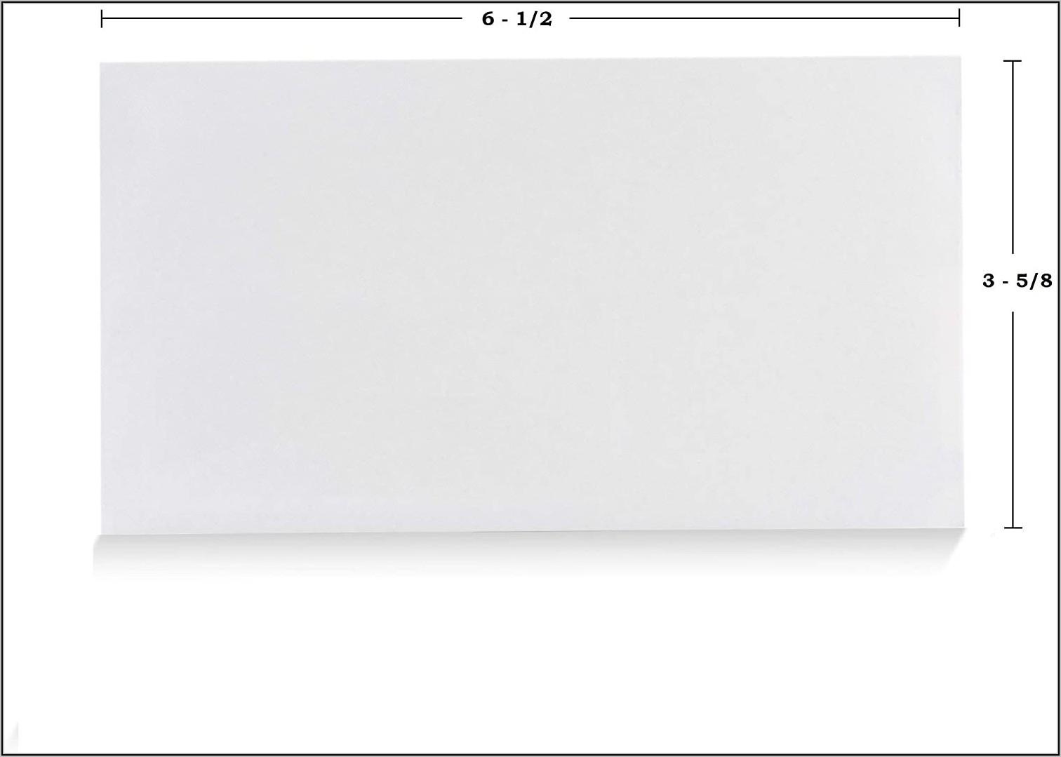 3 58 X 6 12 Window Envelopes