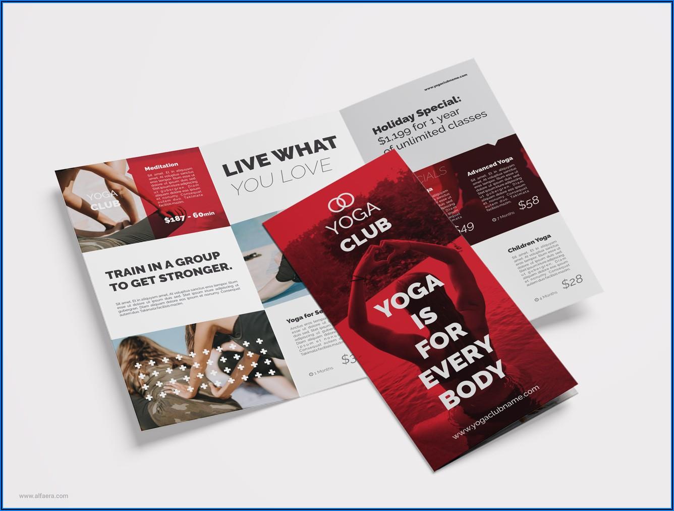 3 Fold Brochure Design Cdr