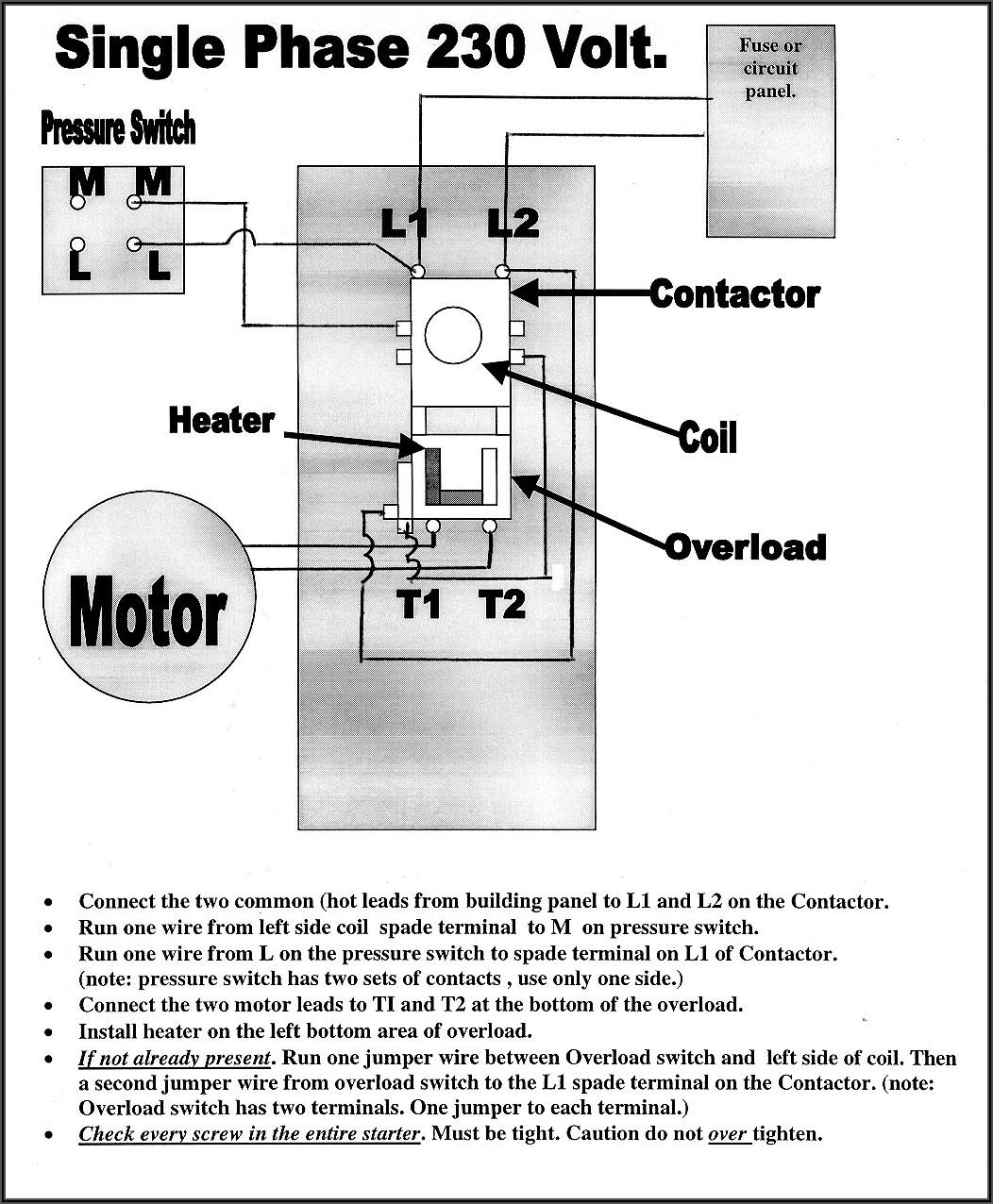 3 Phase Ac Compressor Wiring Diagram