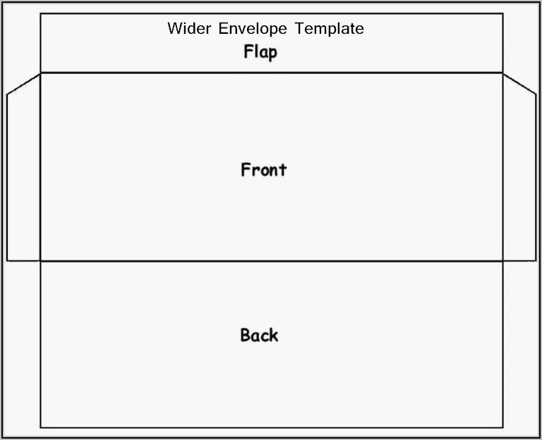 3.5 X 5 Envelope Template For Word