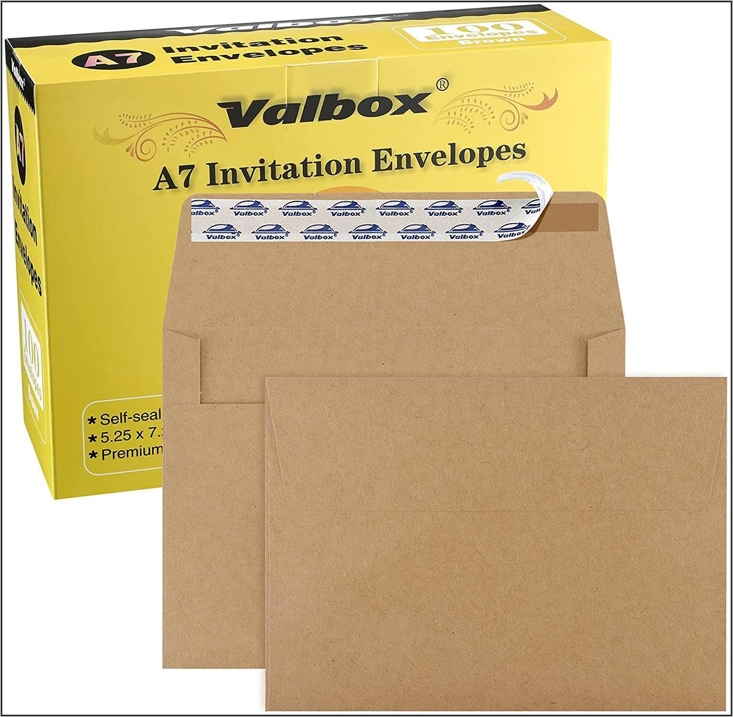 5 X 7 Invitation Envelopes