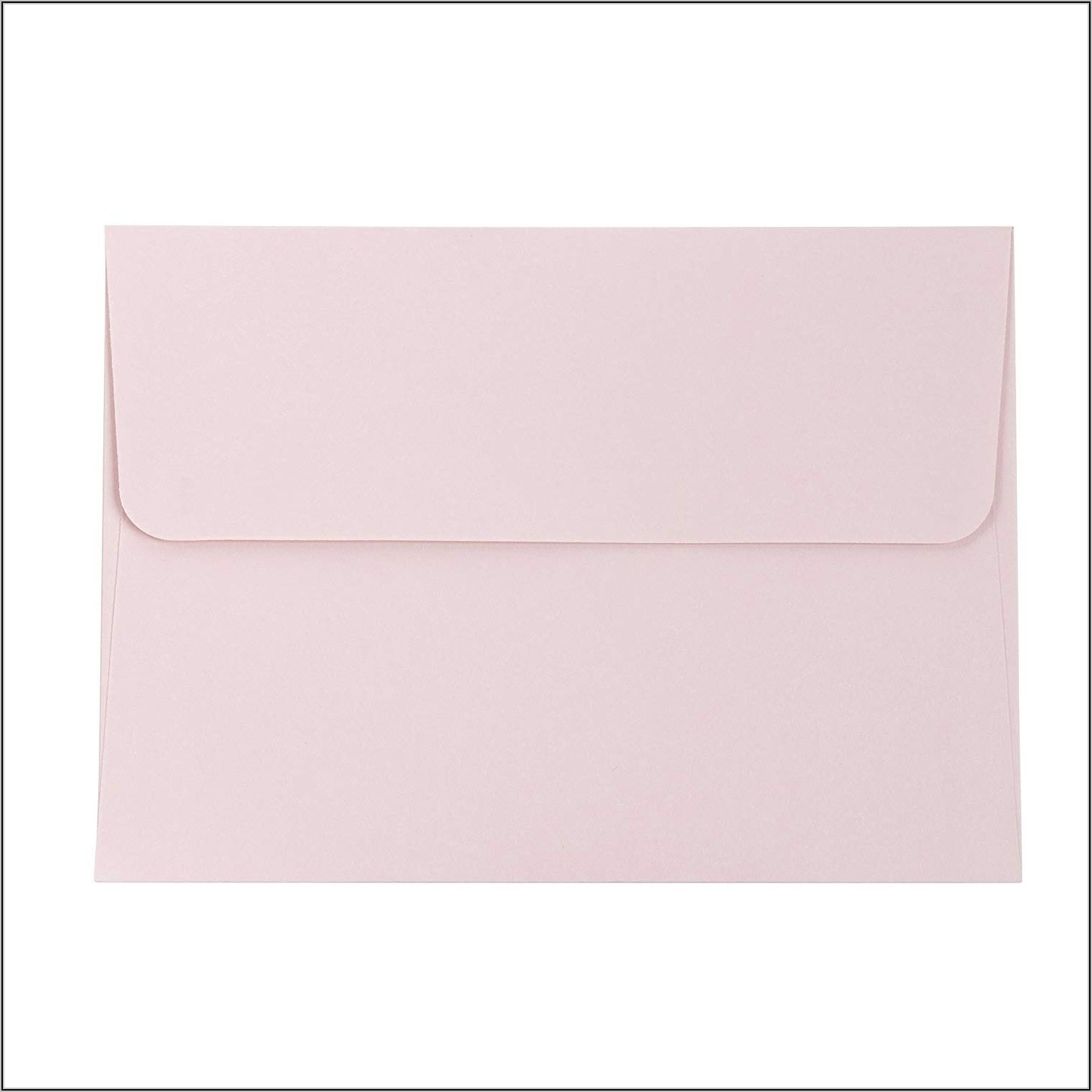 5x7 Rose Gold Envelopes