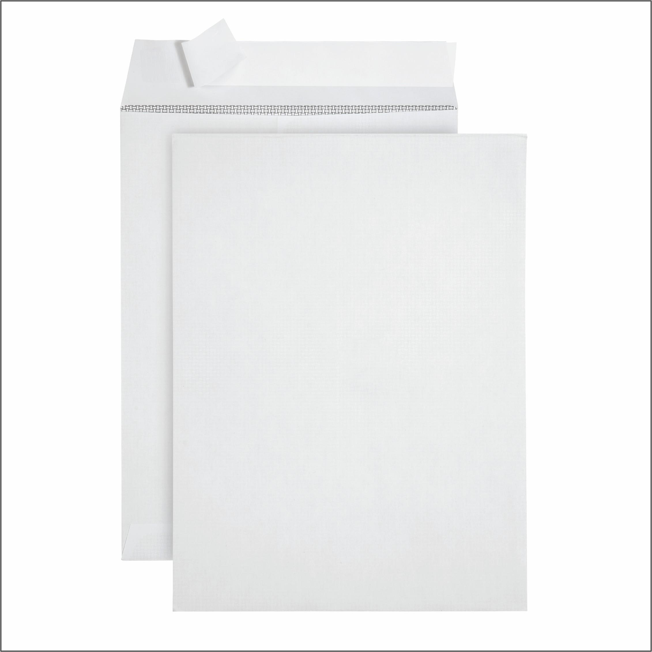 9 X 12 White Catalog Envelopes