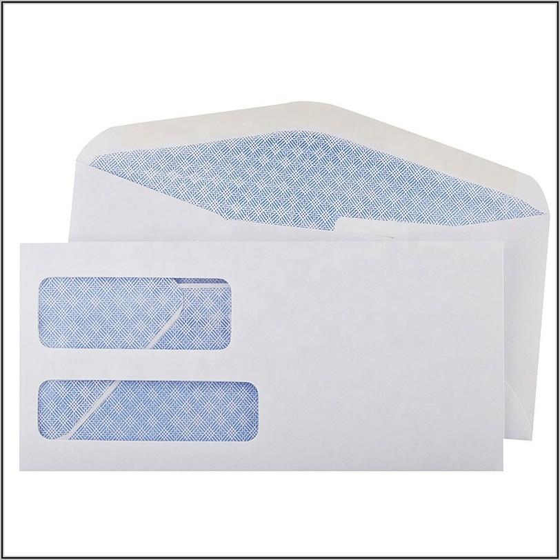 9x12 Double Window Envelopes