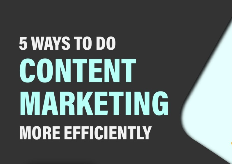 Content Marketing In 5, 4, 3, 2, 1