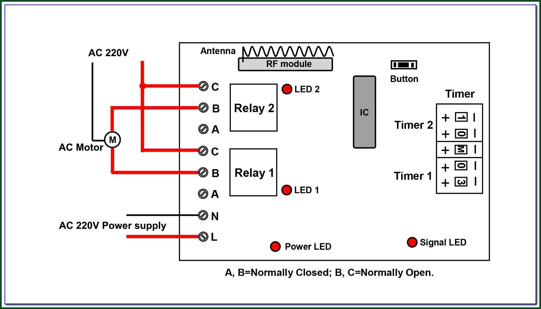 Air Compressor Wiring Diagram 230v 1 Phase