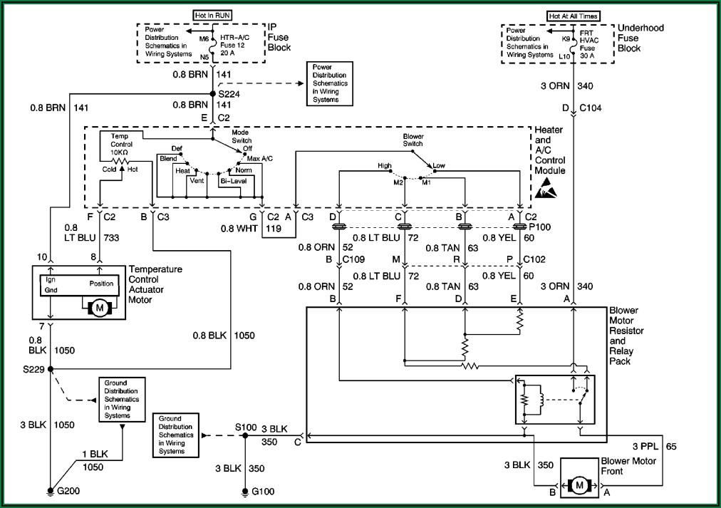 Air Conditioning Compressor Wiring Diagram