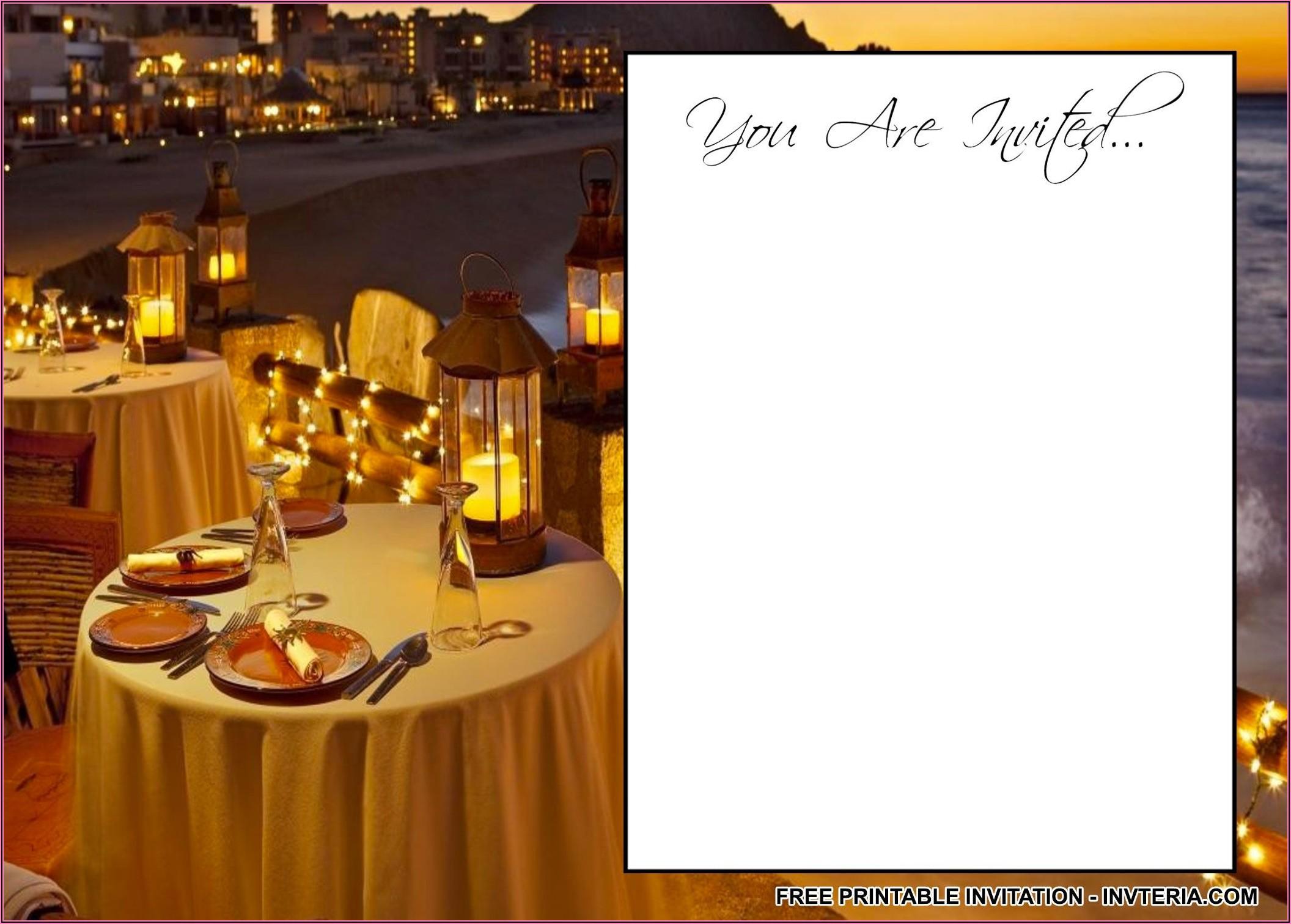 Birthday Dinner Invitation Wording