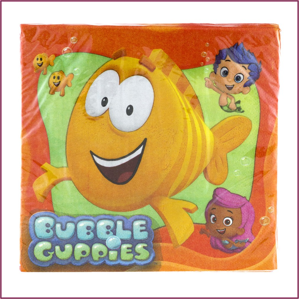 Bubble Guppies Invitations Walmart