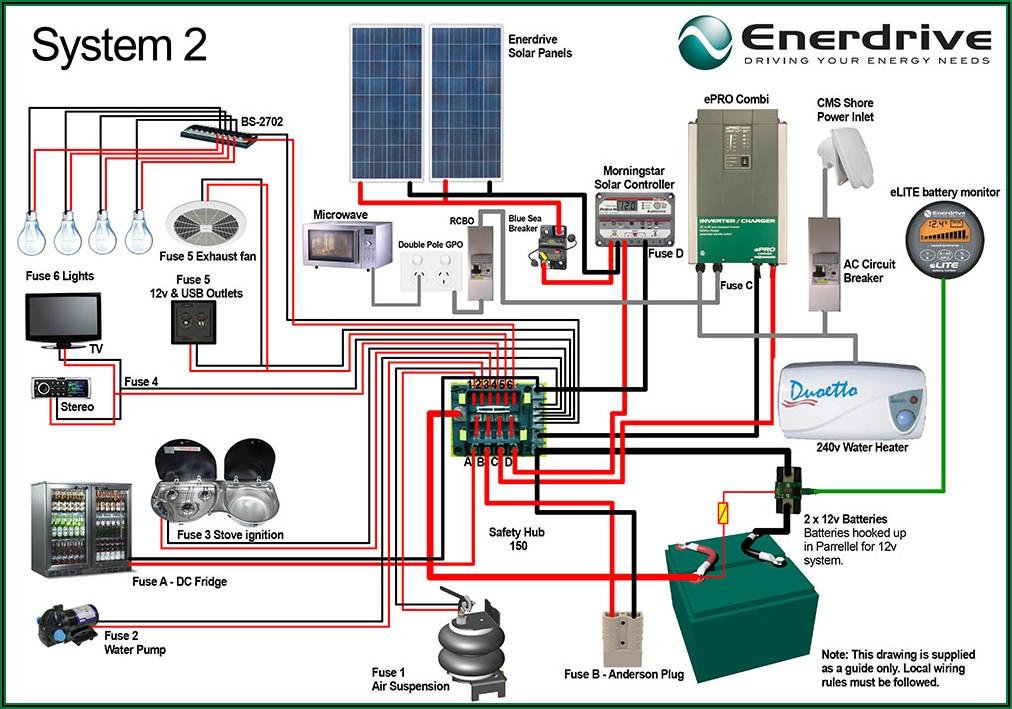 Camper Trailer Electrical Wiring Diagram