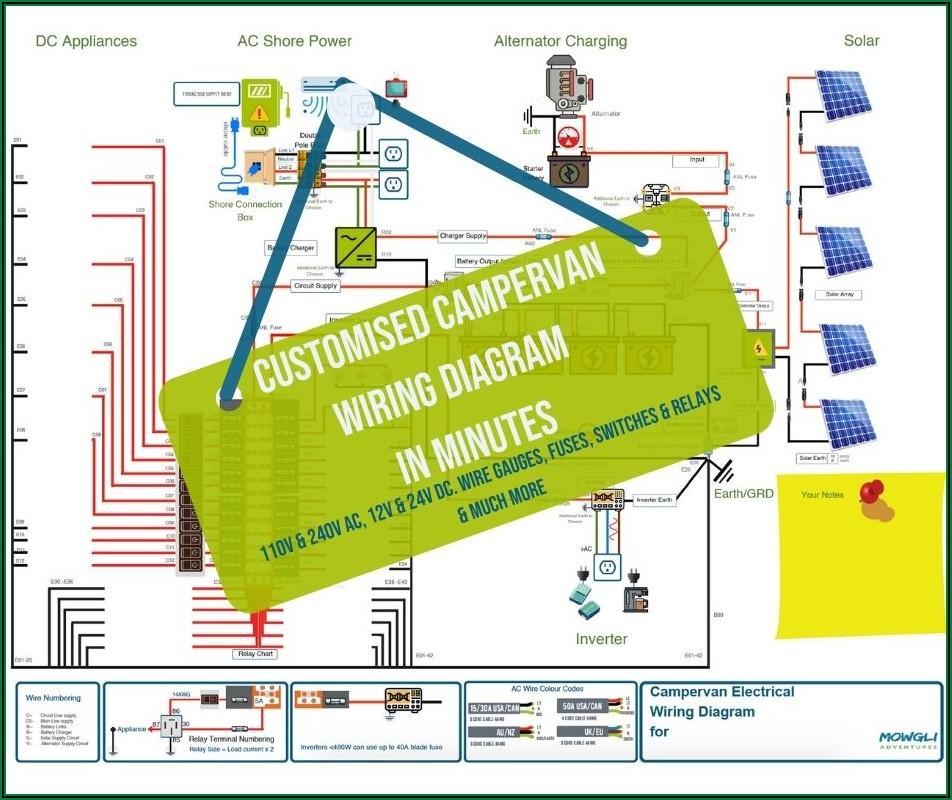 Campervan Electrical Wiring Diagram