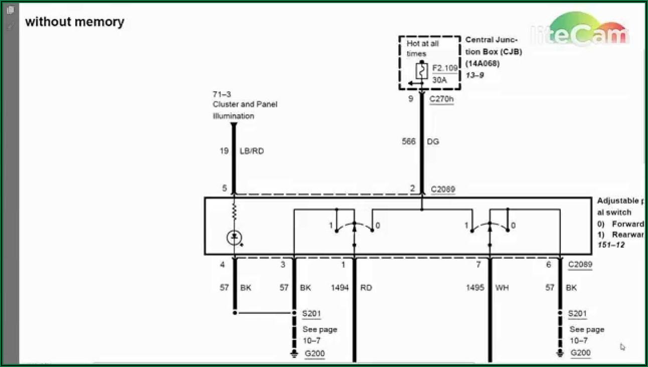 Car Air Conditioner Compressor Wiring Diagram