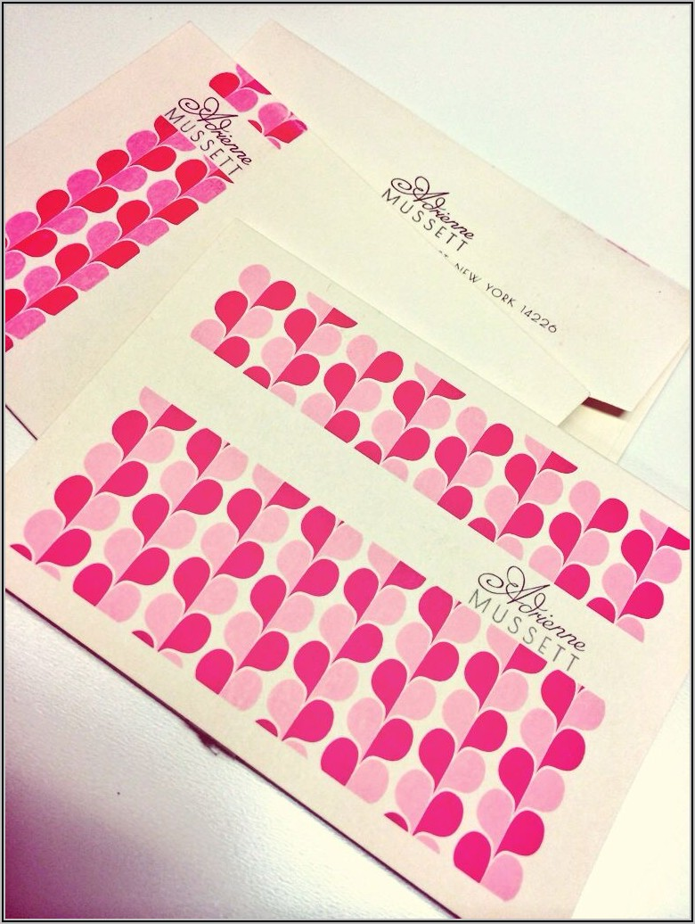 Cardstock With Matching Envelopes