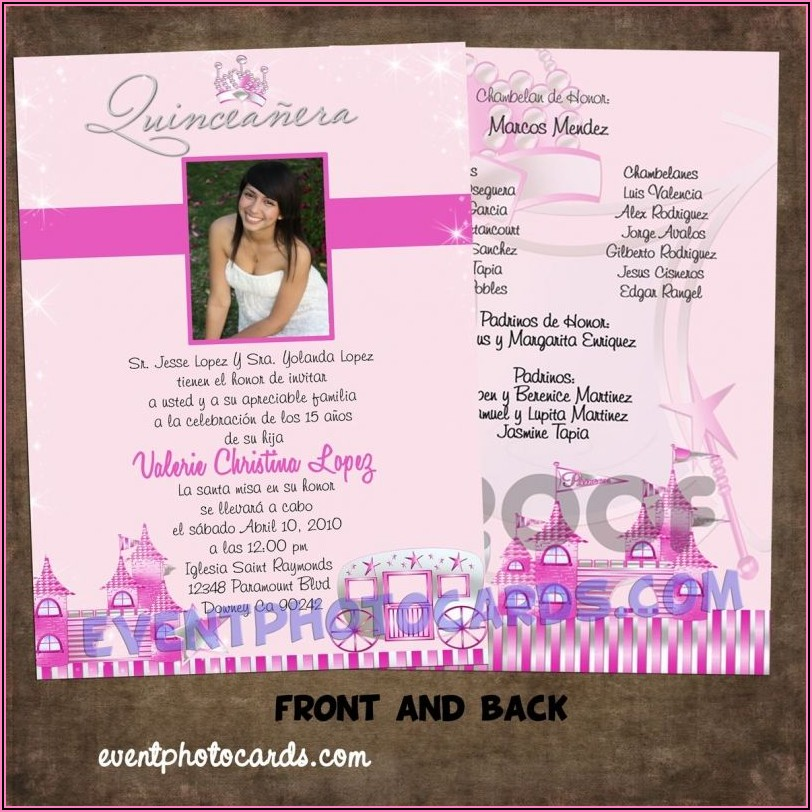 Cheap Quinceanera Invitations Online
