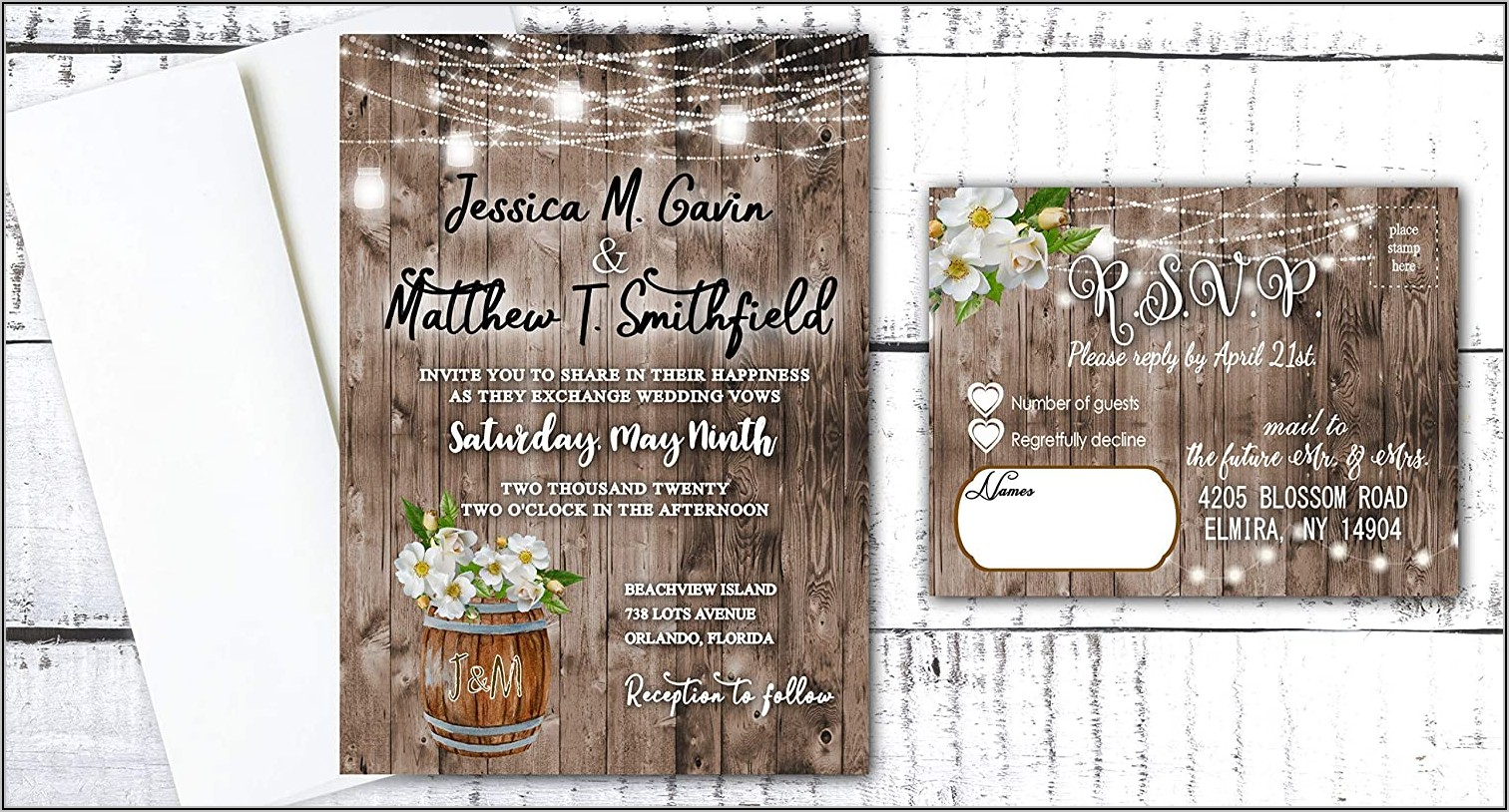 Cheap Rsvp Cards With Envelopes