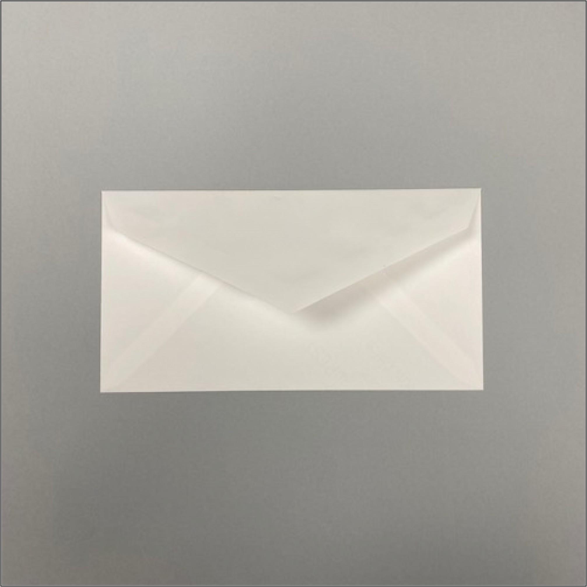 Classic Crest Monarch Envelopes