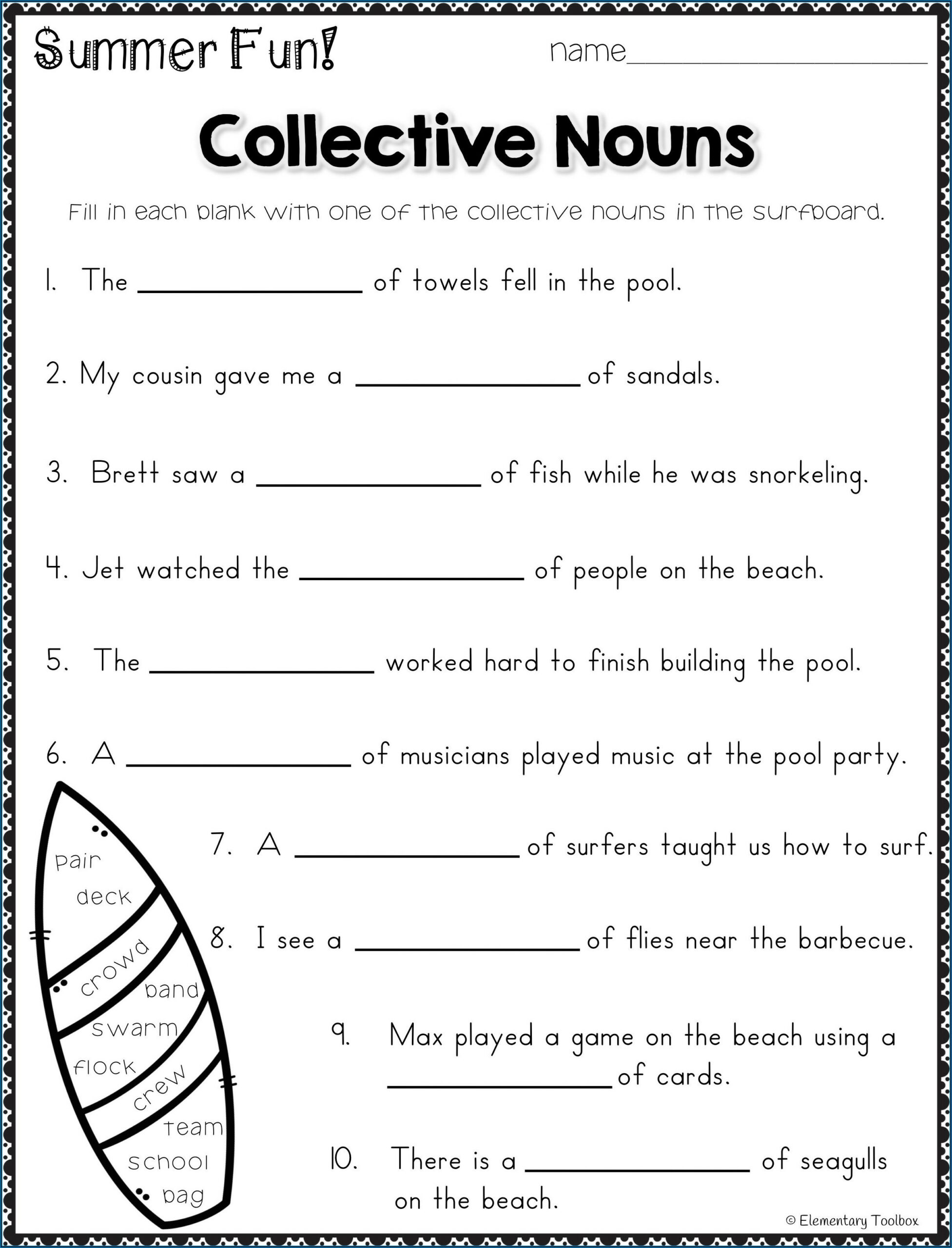 Compound Words Worksheets For 3rd Grade