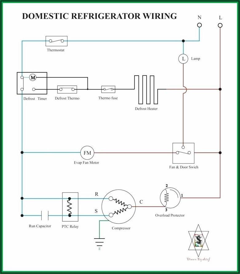 Compressor Wiring Diagram Refrigerator