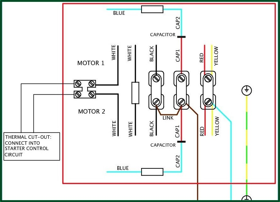 Compressor Wiring Diagram Single Phase