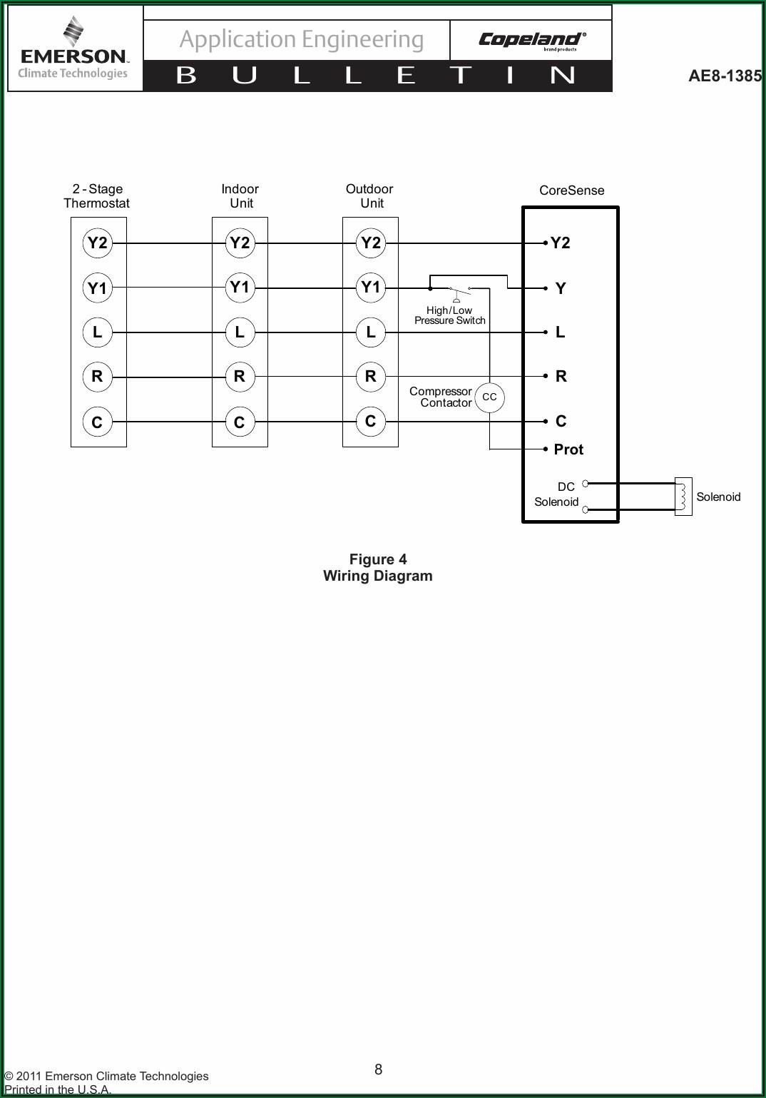 Copeland Compressor Wiring Diagram Single Phase