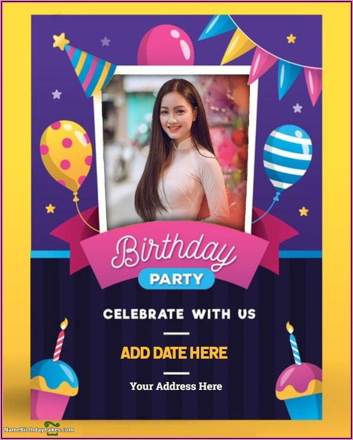 Create Birthday Party Invitation Card Online Free