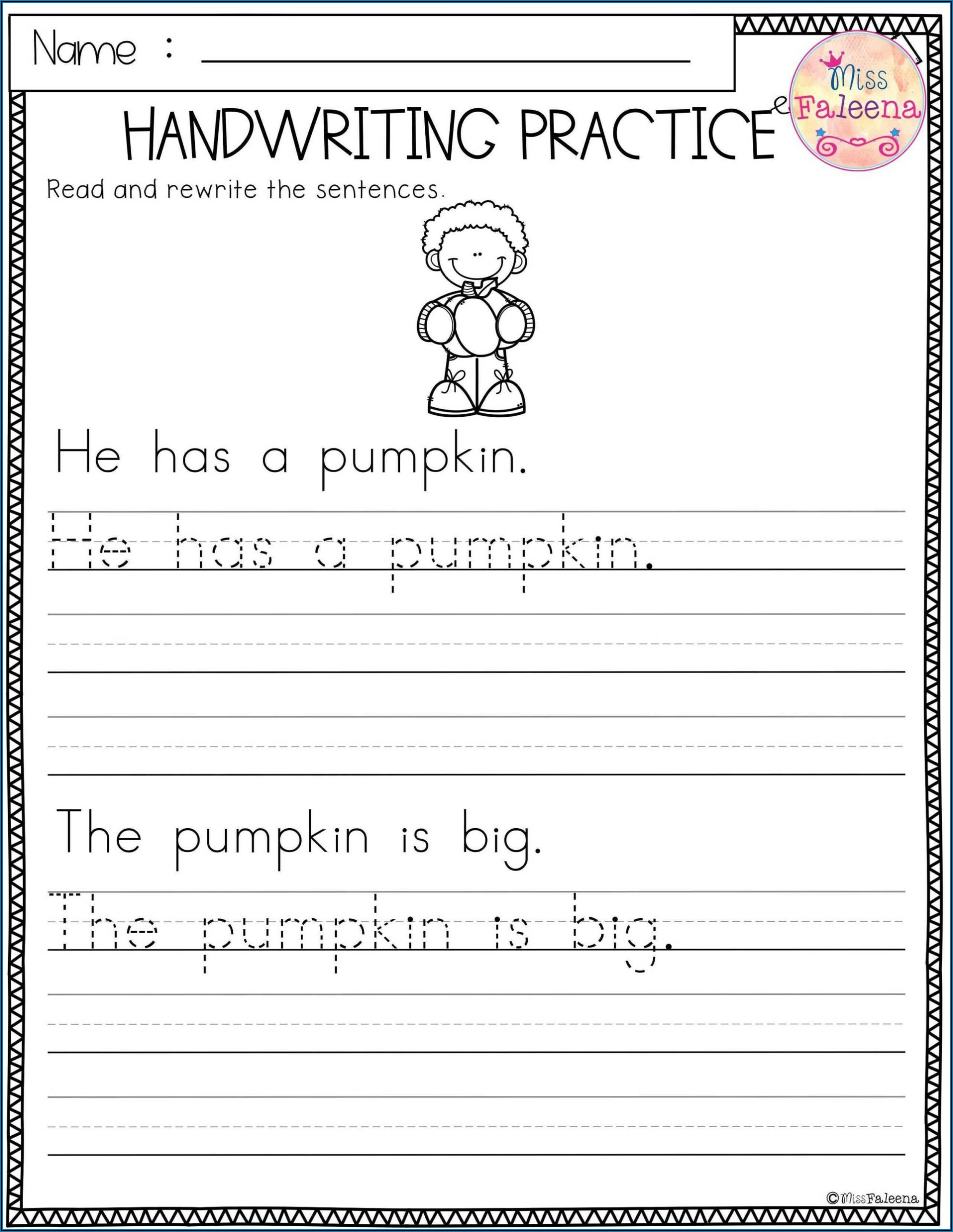 Cursive Writing Worksheet Creator