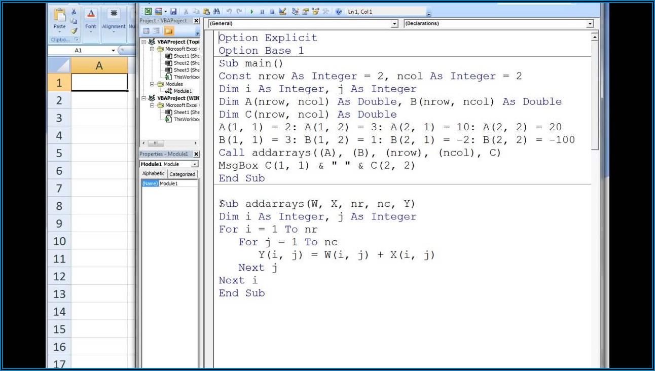 Excel Vba Insert Array To Range