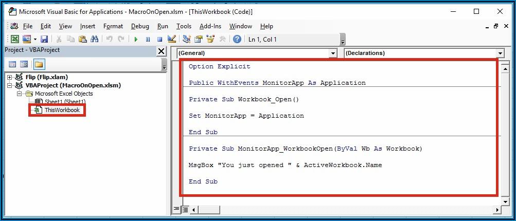 Excel Vba Open A Worksheet
