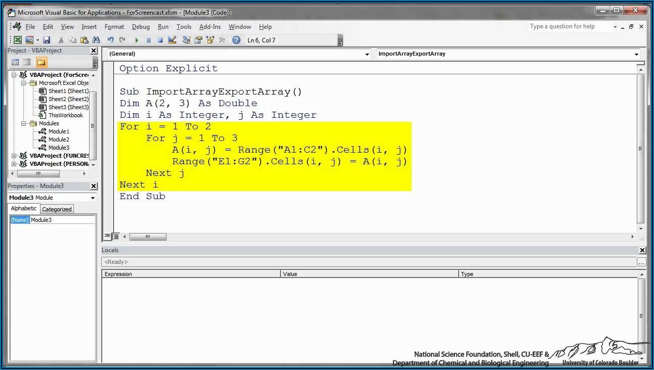 Excel Vba Paste 2d Array To Worksheet