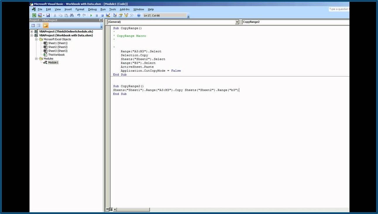 Excel Vba Workbook.sheet.range