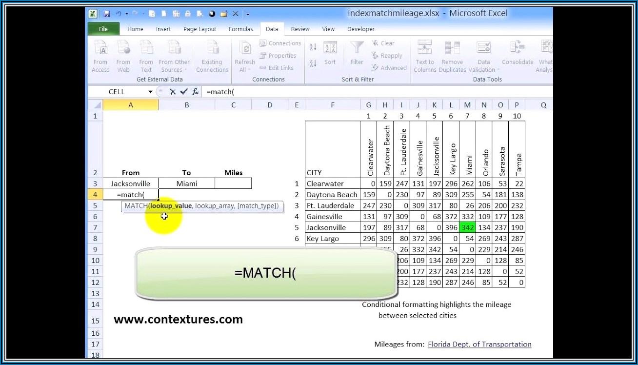Excel Vba Worksheetfunction Index Match
