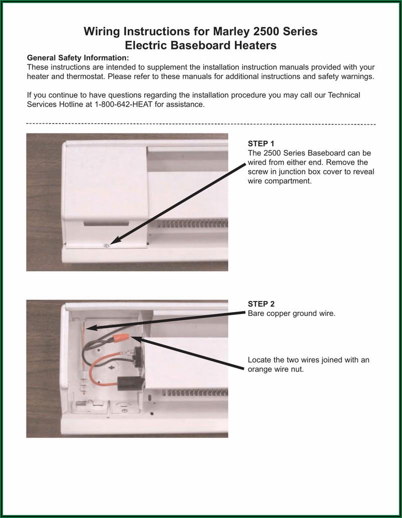 Fahrenheat Double Pole Thermostat Wiring Diagram