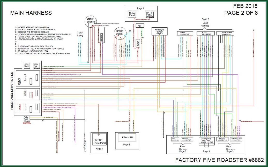Fitech Electric Fan Wiring Diagram